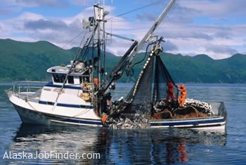 alaska salmon fishing boat photo