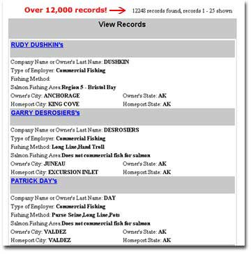 alaska fishing boat job condensed results