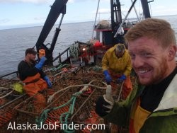 Crab Fishing Deckhands - Bering Sea Alaska