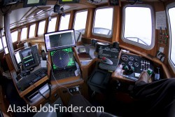 Alaska Pollock Fishing Vessel Pilot House
