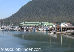 Alaska Salmon Cannery in Petersburg Alaska