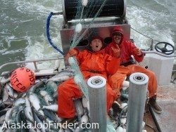 Happy Alaska Commercial Fishermen photo