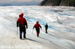 Alaska Glacier Tour Guide Photo