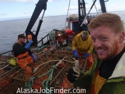 Alaska Crab Boat Deckhands photo