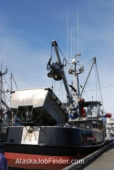 Purse seiner fishing boat photo