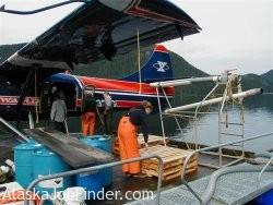 Alaska Salmon Hatchery Workers Photo